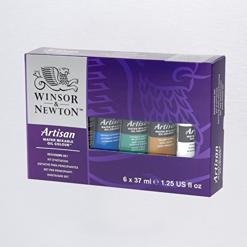 Winsor & Newton Artisan Water Mixable Oil Colour Beginners Set | Cass Art